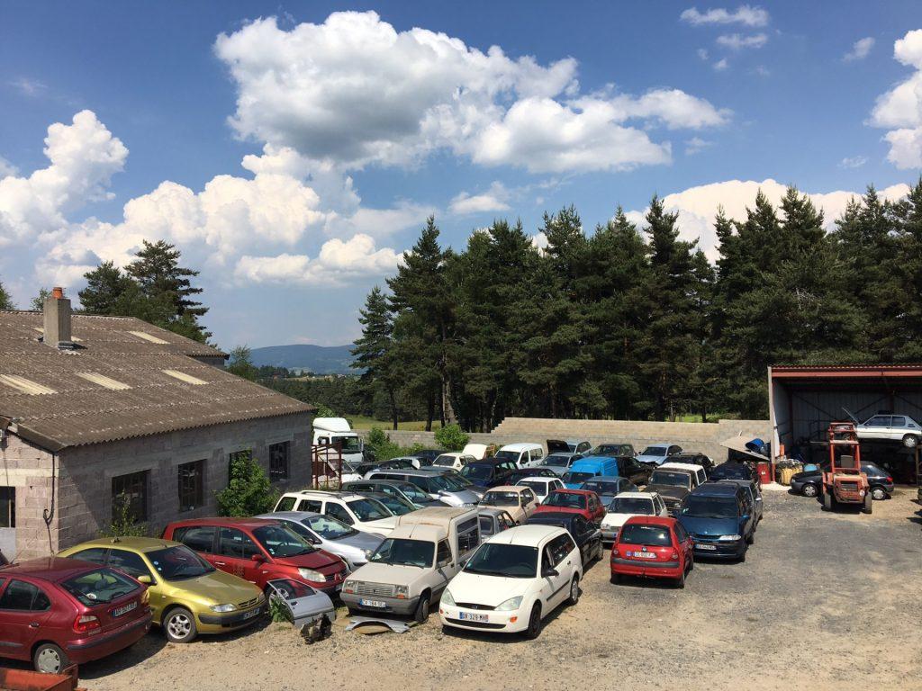 casse automobile en Lozère